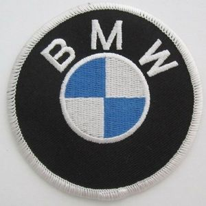 Set of 2 Vintage BMW Embroidered Patches
